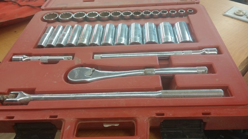 STANLEY Sockets/Ratchet PRONTO MODEL 5449XL
