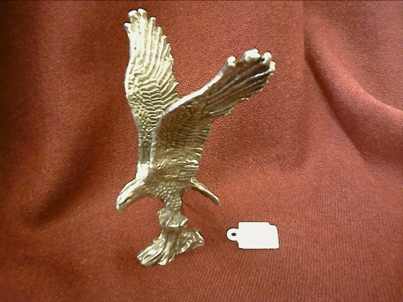 MISC COLLECTIBLES NEW MISC NEW MISC ELK GROVE; PEWTER EAGLE WINGS UPSWEPT