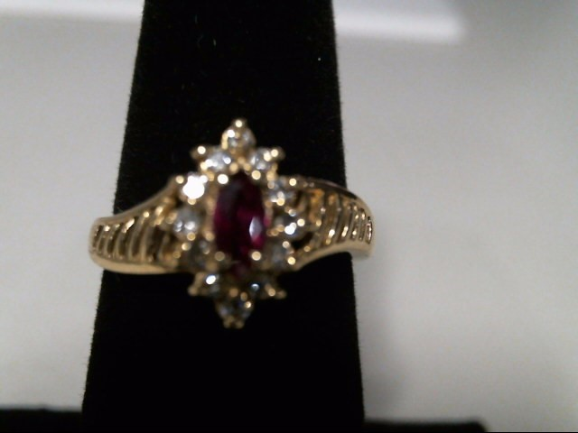Lady's Gold Ring 14K Yellow Gold