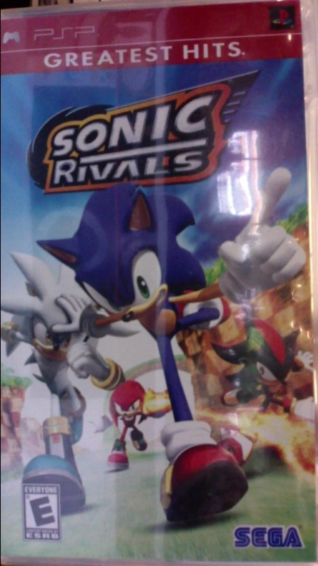 SONY Sony PSP Game GREATEST HITS SONIC RIVALS PSP