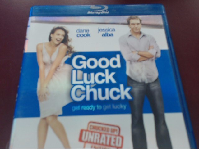 GOOD LUCK CHUCK UNRATED BLU-RAY
