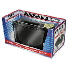 GLOBAL VISION WIND-SHIELD KIT 1; clear safty lens and smoke lens