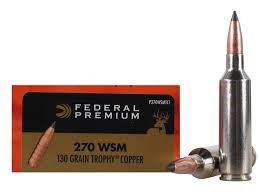 FEDERAL AMMUNITION Ammunition 270 130 GRAIN VITAL SHOK