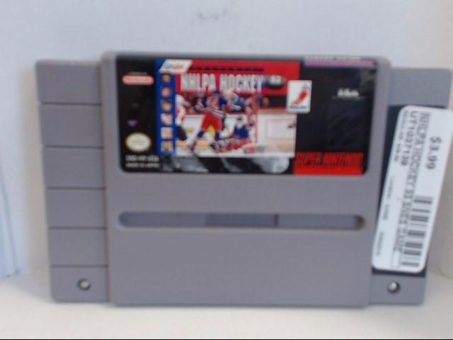 NINTENDO SNES NHLPA HOCKEY 93 *CARTRIDGE ONLY*