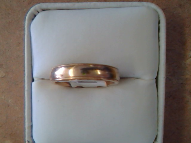BAND RING JEWELRY , 14KT, 6.60 G