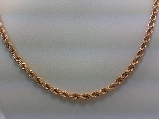 "18"" Gold Chain 10K Yellow Gold 4.5g"