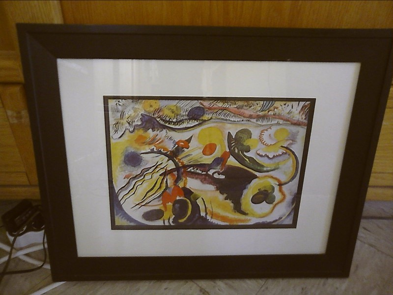 WASSILLY KANDINSKY Painting ABSTRACT