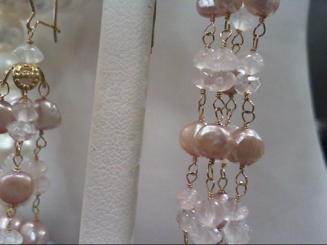 Gold Earrings 14K Yellow Gold 10g