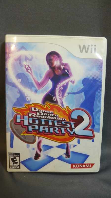 NINTENDO WII GAME DANCE DANCE REVOLUTION HOTTEST PARTY 2 GAME