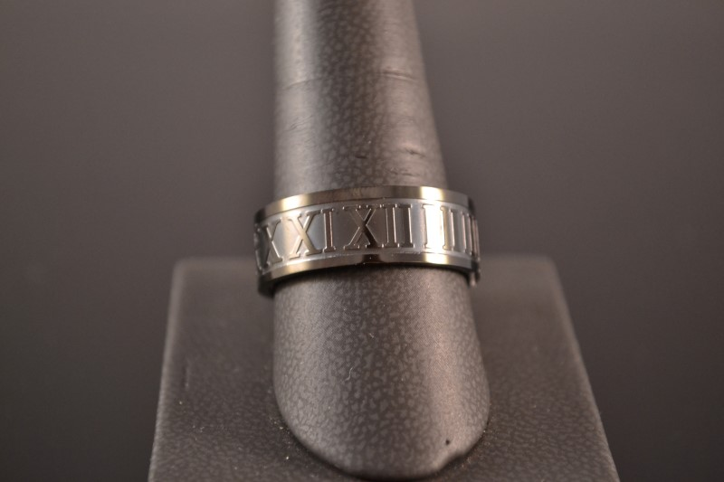 Gent's Ring Black Stainless 7.3g