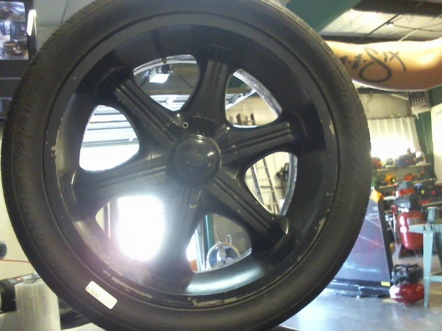 20S RIMS AND TIRES