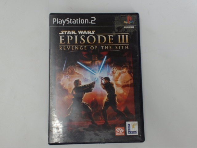 SONY Sony PlayStation 2 STAR WARS EPISODE III REVENGE OF THE SITH