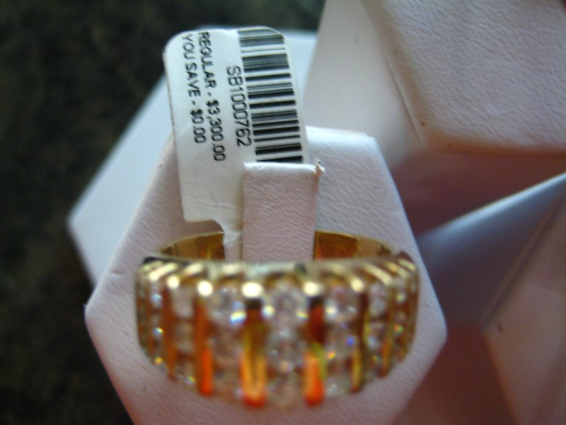Gent's Gold Wedding Band 14K Yellow Gold 10.03g