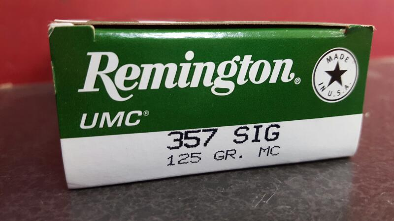 REMINGTON Ammunition L357S1 357 Sig