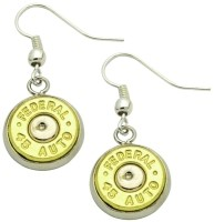 LUCKY SHOT Accessories BULLET DANGLE EARRINGS