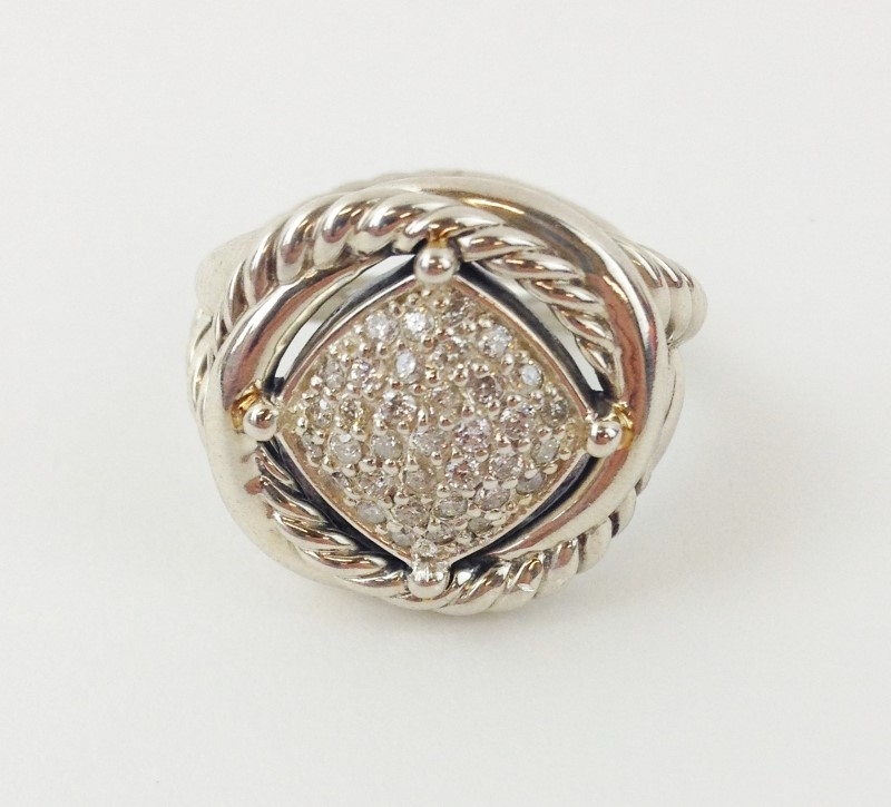 DAVID YURMAN LABYRINTH LADIES DIAMOND RING