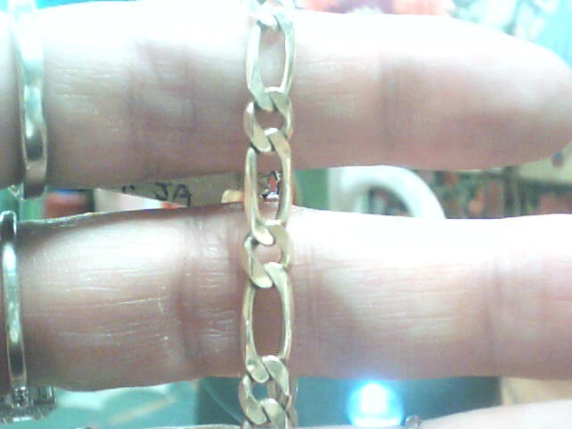 Gold Link Bracelet 14K Yellow Gold 5.6dwt
