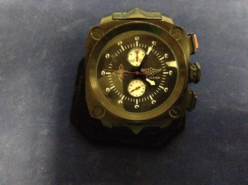 AFFLICTION Gent's Wristwatch LIVE FAST WATCH