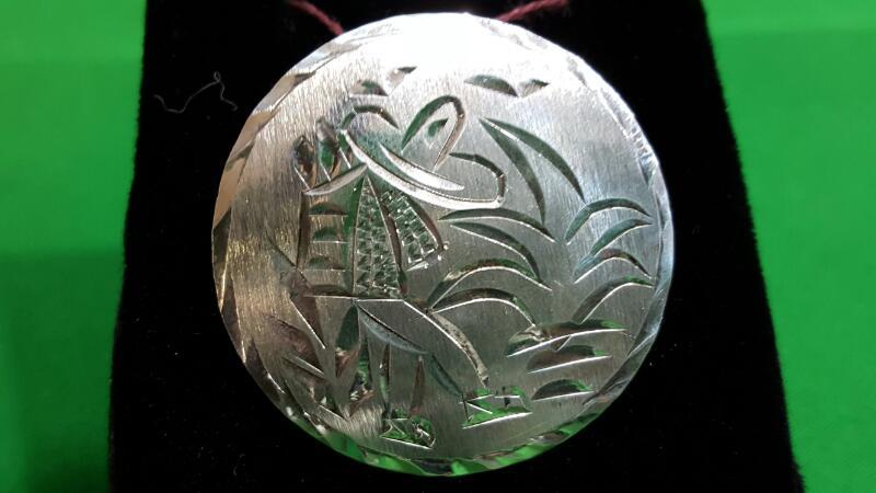 Silver Brooch 925 Silver 6.8g