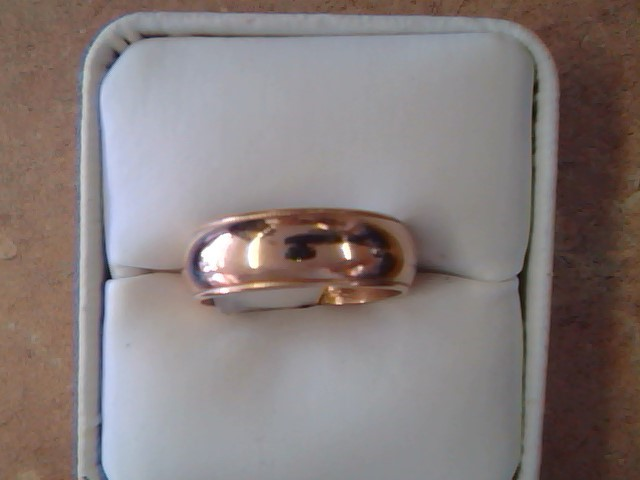 BAND RING JEWELRY , 14KT, 7.80 G