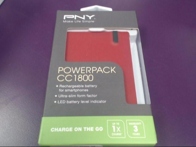 PNY POWERPACK MODEL #CC1800
