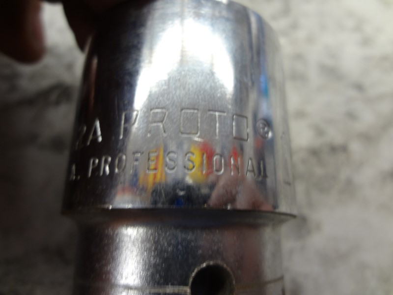 """PROTO TOOLS 5542A 1-5/16"""" 3/4"""" DRIVE 12 POINT"""