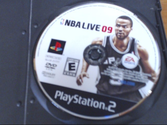 SONY Sony PlayStation 2 NBA LIVE 09 PS2