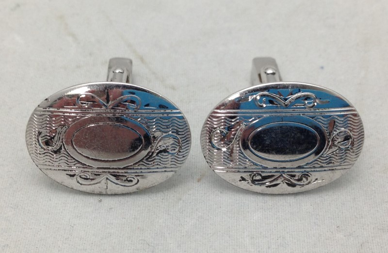 Anson Sterling Silver Cuff Links
