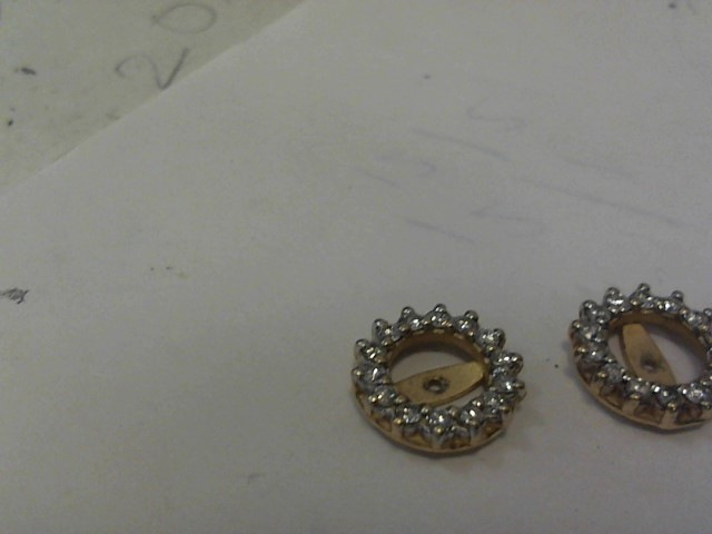 Gold Earrings 14K Yellow Gold 2.1dwt
