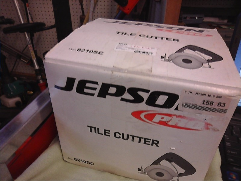 JEPSON 82100SC TILE CUTTER NEW IN BOX