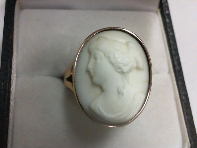 Lady's Gold Ring 18K Rose Gold 6.4g