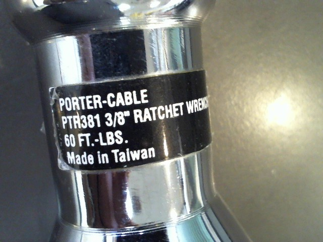 PORTER CABLE Air Ratchet PTR381