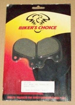 BIKER'S CHOICE 492586, #44098-77; FRT BRK PAD BT/XL-1 CALIPER