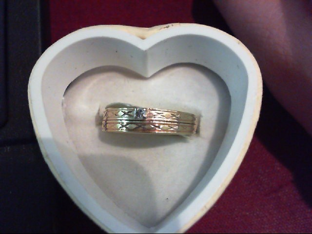 Lady's Diamond Wedding Set .03 CT. 10K Yellow Gold 2.1g