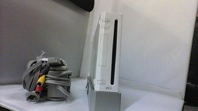 Nintendo Wii Console RVL-001 White