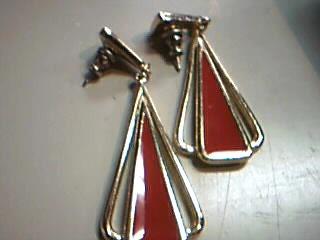 Gold Earrings 10K Yellow Gold 11g