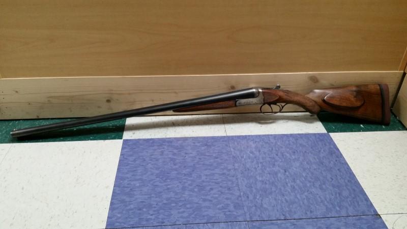 "FRANCOTTE'S ARMS DOUBLE BARREL SHOTGUN 12GA. 28"""
