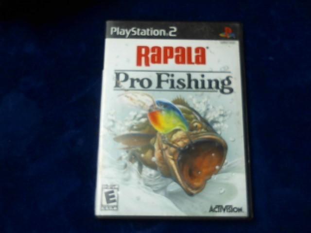 SONY Sony PlayStation 2 Game RAPALA PRO FISHING