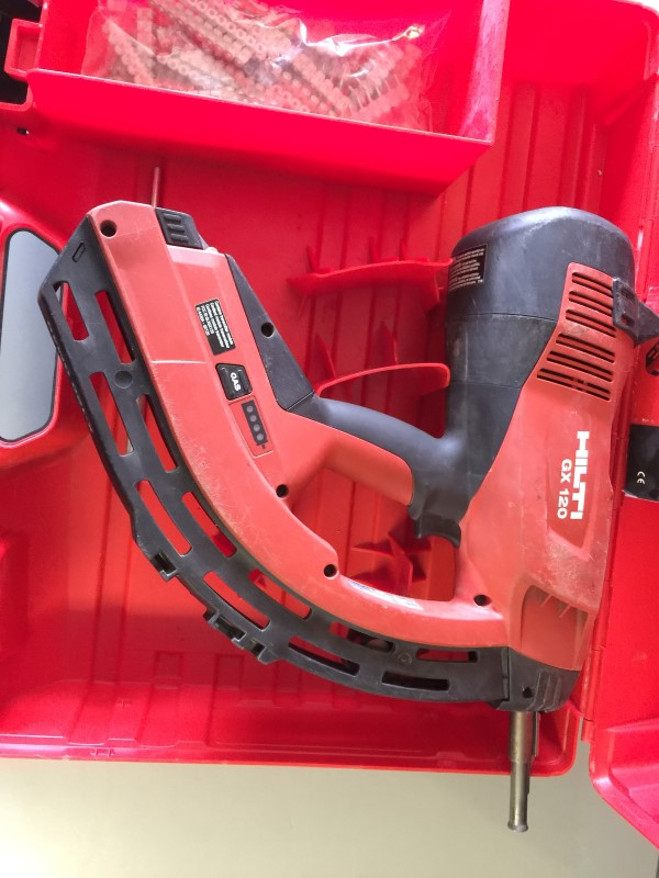 hilti gx 120 fully automatic gas actuated fastening tool good buya. Black Bedroom Furniture Sets. Home Design Ideas