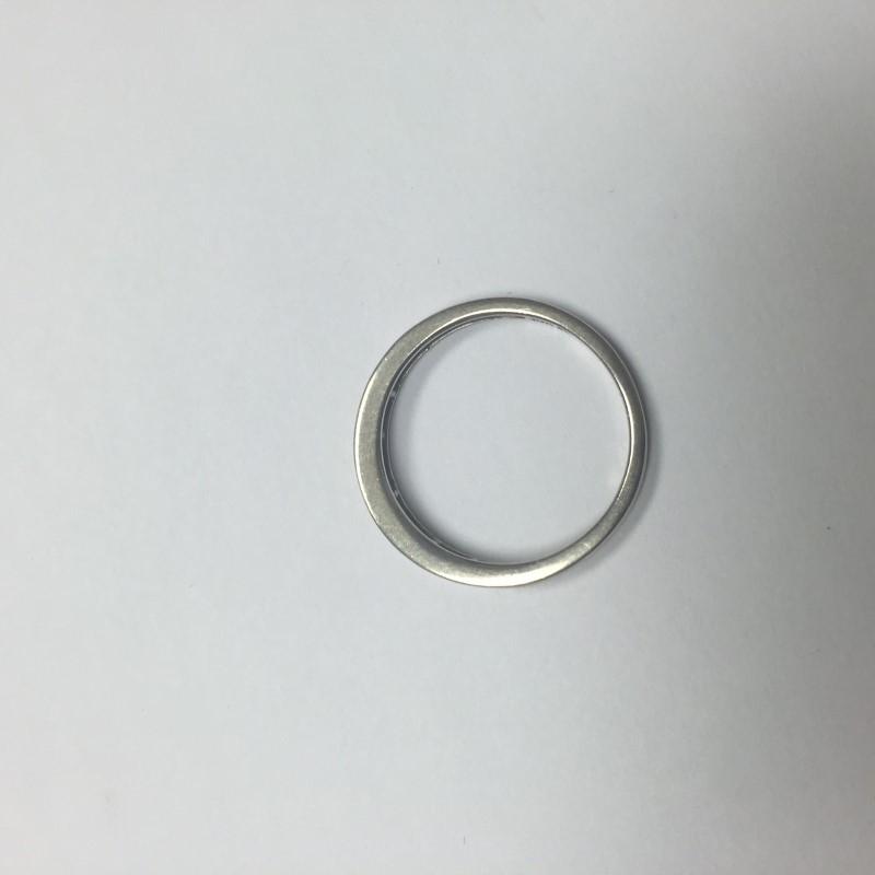 Lady's Diamond Wedding Band 15 Diamonds .15 Carat T.W. 14K White Gold 1.1dwt