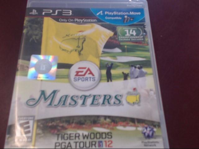SONY PS3 MASTERS PGA TOUR 12