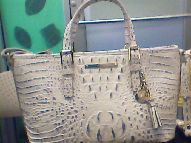 BRAHMIN Handbag MINI ASHER STONEWASH