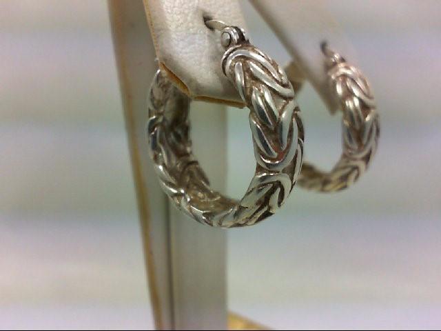 Silver Earrings 925 Silver 11.2g