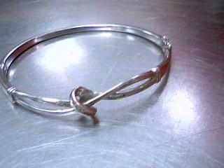 Silver-Diamond Bracelet 26 Diamonds .26 Carat T.W. 925 Silver 13.9g