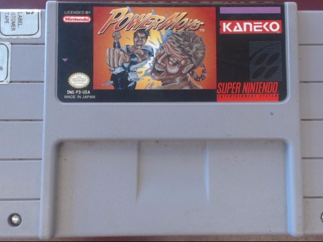 NINTENDO SNES POWER MOVES *CARTRIDGE ONLY*