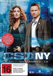 PARAMOUNT DVD CSI: NY THE COMPLETE SECOND SEASON