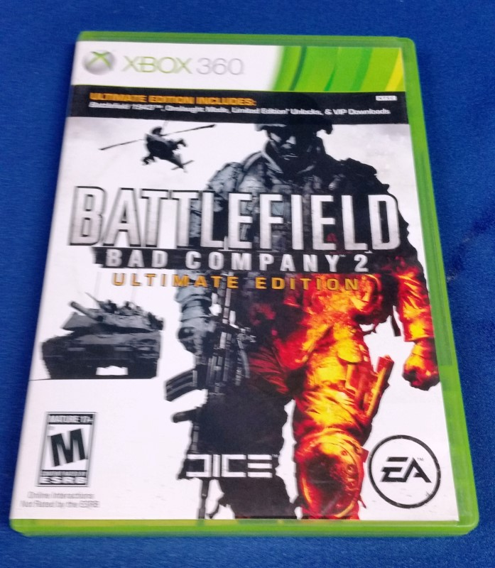 XBOX 360 BATTLEFIELD BAD CO 2 ULTIMATE EDITION