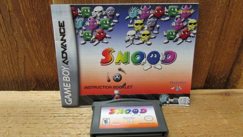 NINTENDO Nintendo GBA SNOOD GAMEBOY ADVANCED