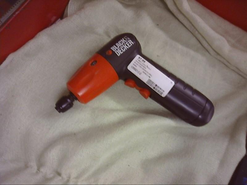 Black & Decker AD600 ker 6-Volt Alkaline 1/4-Inch Hex Cordless Drill/Driver