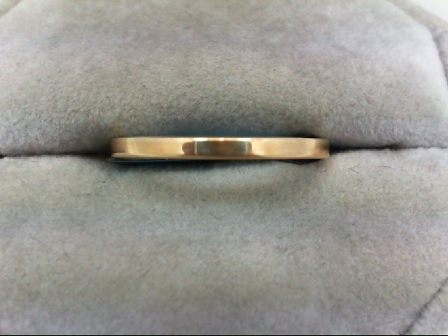 Lady's Gold Wedding Band 14K Yellow Gold 2g Size:8